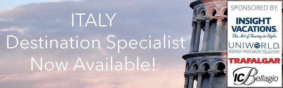 Italy Destination Specialist
