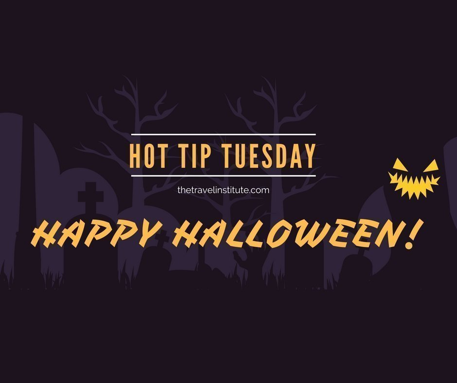 Hot Tip Tuesday Halloween