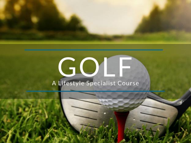 Golf - A Lifestyle Specialist Course - Premium Access course image
