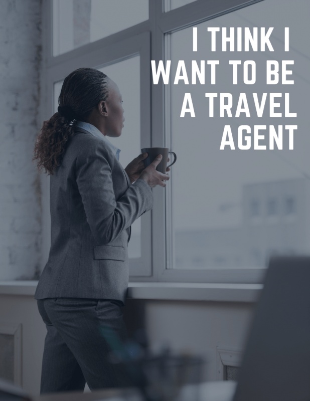 I want to be a travel Agent