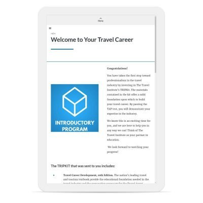 Travel Introductory Program Online Example 2